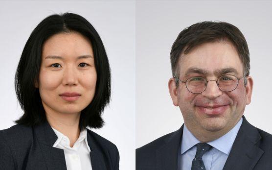Fang Liu, Senior Analyst, und Thomas Amrein, Portfoliomanager des Credit Suisse (Lux) Digital Health Equity Fund / © Credit Suisse Asset Management