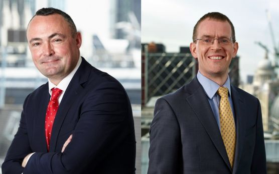 Gary Buxton, Head of EMEA ETFs and Indexed Strategies bei Invesco, Chris Mellor, Head of EMEA ETF Equity and Commodity Product Management bei Invesco / © Invesco