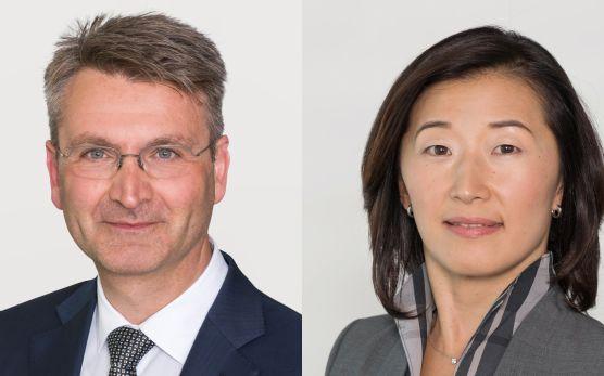 Ernst Glanzmann & Reiko Mito, Fondsmanager, GAM Investments / © GAM Investments